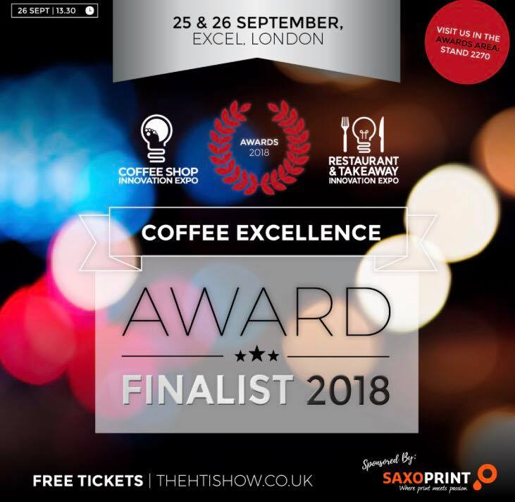 Coffee Excellence Award 2018